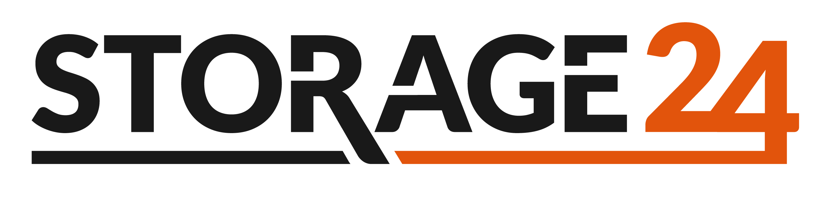 Logo_Web - Grau Orange Storage24